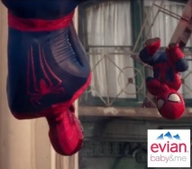 Evian Spider-Man